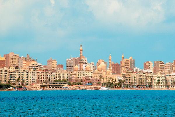Александрија тоне поради климатските промени